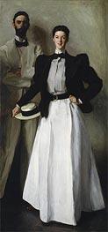 Mr. and Mrs. I. N. Phelps Stokes, 1897 von Sargent | Gemälde-Reproduktion