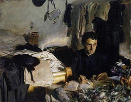 Padre Sebastiano, c.1904/06 by Sargent | Painting Reproduction