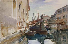 Giudecca, c.1913 by Sargent | Painting Reproduction