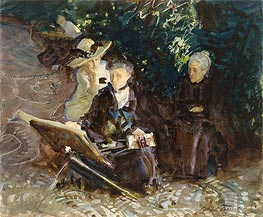 In the Generalife, 1912 by Sargent | Painting Reproduction