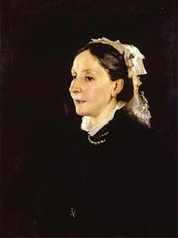Portrait of Mrs. Daniel Sargent Curtis, 1882 by Sargent | Painting Reproduction