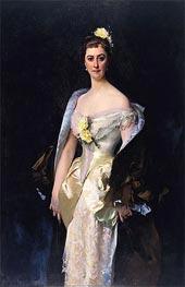 Caroline de Bassano, Marquise d'Espeuilles, 1884 by Sargent | Painting Reproduction