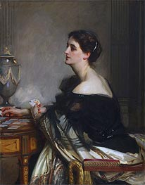Portrait of Lady Eden, 1906 by Sargent | Painting Reproduction