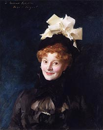 Madame Escudier, c.1883 by Sargent | Painting Reproduction