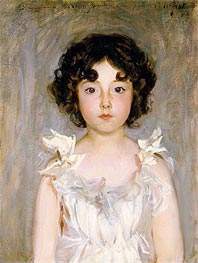 Mademoiselle Jourdain, 1889 by Sargent | Painting Reproduction