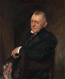 Portrait of James Whitcomb Riley, 1903 by Sargent | Painting Reproduction
