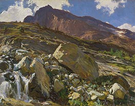 Simplon Pass, 1911 by Sargent | Painting Reproduction