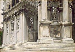 Santa Maria della Salute, Venice, c.1904 by Sargent   Painting Reproduction