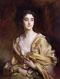 The Marchioness of Cholmondeley, 1989 by Sargent | Painting Reproduction