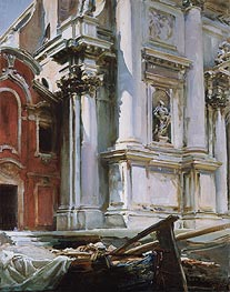 Church of St. Stae, Venice, 1913 by Sargent | Painting Reproduction