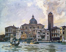 Palazzo Labia, Venice, 1903 by Sargent | Painting Reproduction