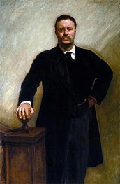 Theodore Roosevelt, 1903 by Sargent | Painting Reproduction