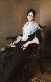 Elizabeth Allen Marquand, 1887 by Sargent | Painting Reproduction