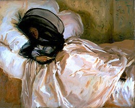 The Mosquito Net, 1912 by Sargent | Painting Reproduction