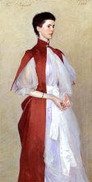 Portrait of Mrs Robert Harrison, 1886 by Sargent | Painting Reproduction