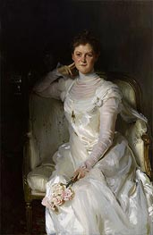 Mrs. Joshua Montgomery Sears, 1899 by Sargent | Painting Reproduction
