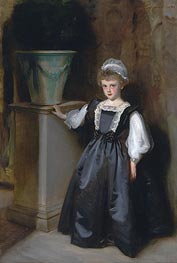 The Honorable Laura Lister, 1896 by Sargent | Painting Reproduction