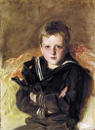 Portrait of Caspar Goodrich, undated by Sargent | Painting Reproduction