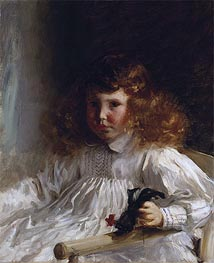Portrait of Leroy King as a Young Boy, 1888 by Sargent | Painting Reproduction