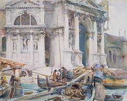 Santa Maria della Salute, 1904 by Sargent | Painting Reproduction