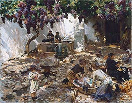 Women at Work, c.1910 by Sargent | Painting Reproduction