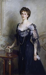 Lady Evelyn Cavendish, undated by Sargent | Painting Reproduction