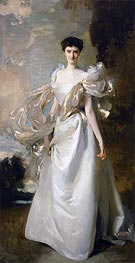 Daisy Leiter (Margaret Hyde, 19th Countess of Suffolk), 1898 by Sargent | Painting Reproduction