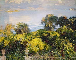 Oranges at Corfu, c.1909 by Sargent | Painting Reproduction