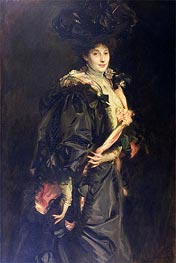 Portrait of Lady Sassoon, 1907 von Sargent | Gemälde-Reproduktion