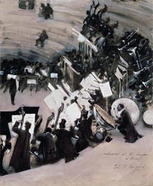 Rehearsal of the Pasdeloup Orchestra at the Cirque d'Hiver | Sargent | veraltet