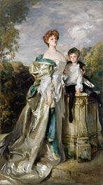 Lady Warwick and her Son, 1905 von Sargent | Gemälde-Reproduktion