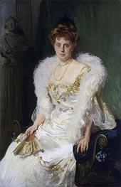 Portrait of Mrs. Charles Beatty Alexander (nee Harriet Crocker), 1902 von Sargent | Gemälde-Reproduktion