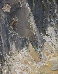 Marble Quarries at Carrara | Sargent | Gemälde Reproduktion