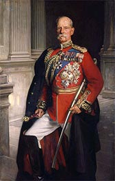 Frederick Sleigh Roberts, 1st Earl Roberts, 1906 by Sargent | Painting Reproduction