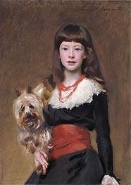 Miss Beatrice Townsend, 1882 von Sargent | Gemälde-Reproduktion