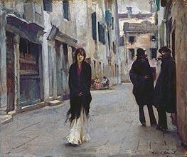 Street in Venice | Sargent | veraltet