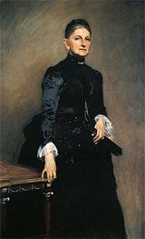 Eleanora O'Donnell Iselin (Mrs. Adrian Iselin), 1888 by Sargent | Painting Reproduction