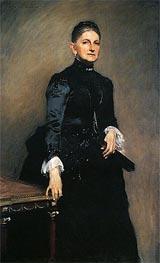 Eleanora O'Donnell Iselin (Mrs. Adrian Iselin), 1888 von Sargent | Gemälde-Reproduktion