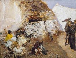 Gypsy Encampment | Sargent | Gemälde Reproduktion