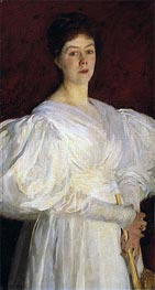 Mrs Frederick Barnard, 1885 by Sargent | Painting Reproduction