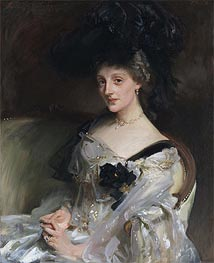 Mrs Philip Leslie Agnew, 1902 by Sargent | Painting Reproduction