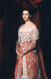 Portrait of Mrs Leopold Hirsch, 1902 by Sargent | Painting Reproduction