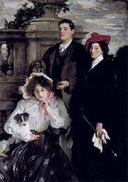Hylda, Almina and Conway, Children of Asher Wertheimer | Sargent | veraltet