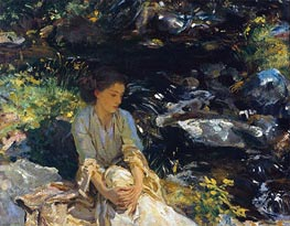 The Black Brook | Sargent | veraltet