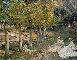 Autumn Leaves | Sargent | Gemälde Reproduktion
