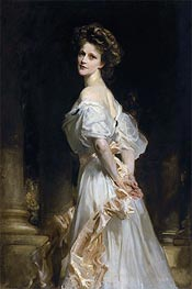 Nancy Astor, 1906 by Sargent | Painting Reproduction