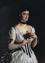 Mrs. Wilton Phipps, c.1884 by Sargent | Painting Reproduction