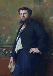 Edouard Pailleron, 1879 by Sargent | Painting Reproduction