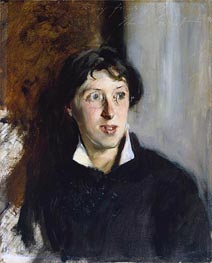 Vernon Lee, 1881 by Sargent | Painting Reproduction