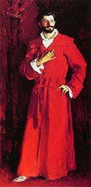 Dr Pozzi at Home, 1881 by Sargent | Painting Reproduction